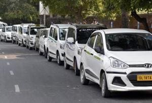Ola-Uber strike: Union activists in Mumbai break eggs inside cabs to...