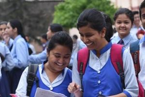 CBSE Class 12 math paper: Students happy after the exam