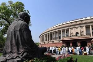 Parliament Live: TDP MPs protest inside premises over AP special...