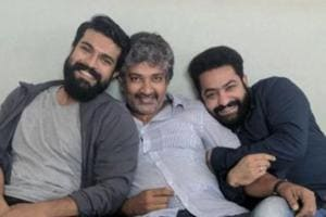 #RRR motion poster: SS Rajamouli announces new film with Jr NTR and...