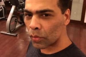 Karan Johar pouts and cribs about going to the gym. Watch his hate...