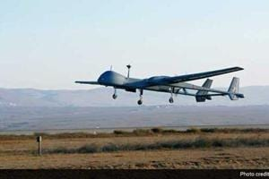 Indian Navy's unmanned drone crashes in Gujarat