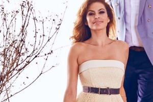 Actor Eva Mendes reveals the secret to her flawless hair and skin