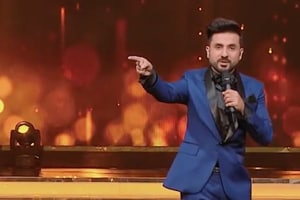 Vir Das' performance at HT India's Most Stylish Awards. (HT...