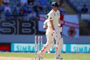 Five England batsmen fall for ducks as Joe Root's side collapse for 58...