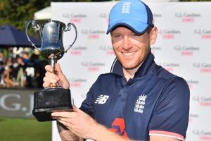 Eoin Morgan to captain ICC World XI against West Indies in Lord's T20...