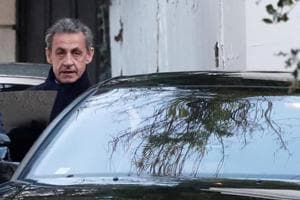 Former French president Sarkozy charged over Libyan money claims
