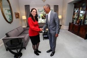 Obama shares parenting tips with New Zealand PM Jacinda Ardern