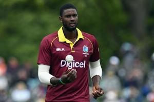 West Indies captain Jason Holder was a relieved man after his side...