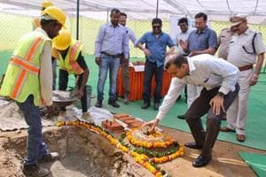 Gurgaon: Work on construction of new police station commences in...