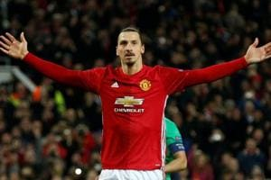 Manchester United striker Zlatan Ibrahimovic close to Major League...