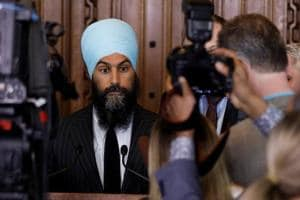 Canada's NDP leader Jagmeet Singh says he won't attend rallies...