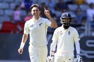 England all out for 58 as Trent Boult, Tim Southee wreak havoc in...