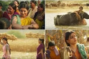 Rangasthalam song Entha Sakkagunave teaser: Samantha Akkineni is the...