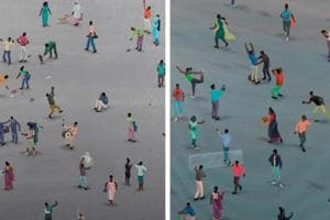 Artist Sameer Kulavoor's Mumbai exhibition celebrates the chaos of...