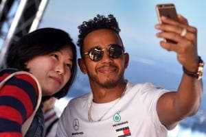 Lewis Hamilton leads Mercedes 1-2 in first practice at Australian...