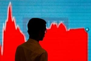 Sensex plunges 471 points, Nifty below 10,000 following Wall Street...