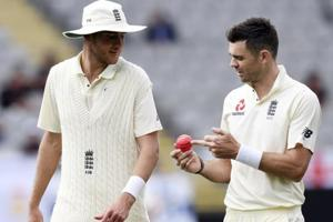 James Anderson not happy with 'harder to swing' pink ball in Auckland...