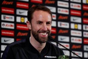 England coach Gareth Southgate has said that he has little interest in...