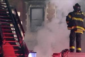 NYC firefighter dies battling blaze on Harlem set of Bruce Willis,...