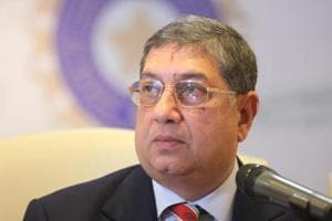 N Srinivasan, top BCCI officials likely to meet in New Delhi over...