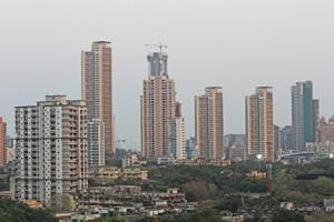 The study looked at one skyscraper in central Mumbai and the building's impact on the duration of sunlight falling on neighbouring structures and area .