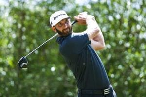 World No.1 Dustin Johnson crashes out at World Golf Championships...
