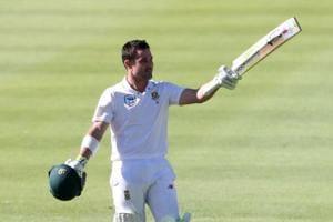 Dean Elgar equals world record in Newlands Test vs Australia