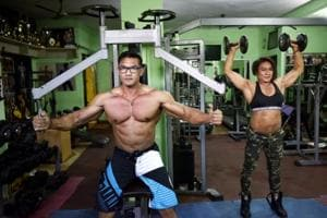 Photos: The CRPF bodybuilders gunning for the Mr. India title