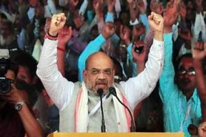 Amit Shah sets BJP target of 21 of 25 Northeast seats for 2019 Lok...