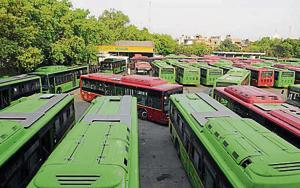 Land scarce, Delhi govt wants to go vertical to park its new buses