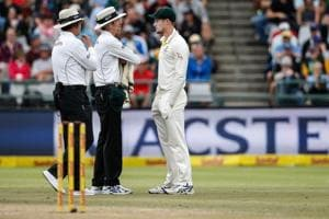Cameron Bancroft charged over ball-tampering in South Africa-Australia...