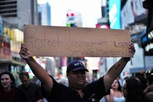 Trump releases order to ban most transgender troops from serving in...