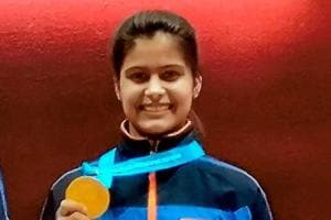 Manu Bhaker wins gold in ISSF Junior World Cup shooting