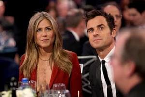 Jennifer Aniston 'doing fine' after split from Justin Theroux