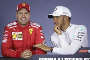 Australian GP: Beaming Lewis Hamilton burns Sebastian Vettel with...