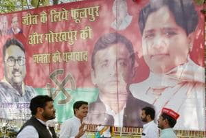 Rajya Sabha election: SP, BSP alliance falters in first test after...