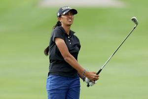 Indian golfer Aditi Ashok carded an even par 72 to make the cut at Kia Classic.