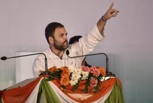 Indian economy growing decently but not generating jobs, says Rahul...