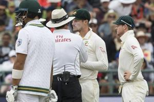 Ball-tampering row hits Australia in Newlands Test against South...