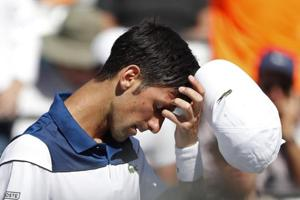 Novak Djokovic crashes out in second round of ATP Miami Open