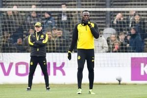 Usain Bolt wants to play in a 'top league', Borussia Dortmund coach...