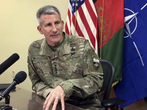 US commander says Russia supplying arms to Taliban