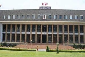The Armed Forces Medical College in Pune.