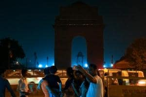 Lights out in Delhi for Earth Hour 2018... and people think it's a...