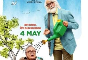 102 Not Out new poster: Old boys, Amitabh and Rishi, love goofing...