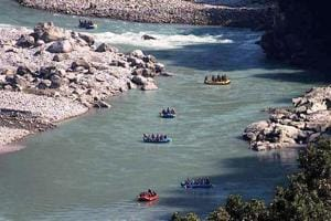 Kali river flows from Nepal and enters India through Pithoragarh district.