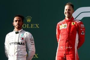 Australian GP: Sebastian Vettel seizes win from Lewis Hamilton