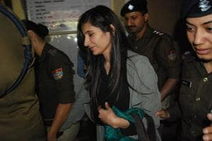 Real estate developer Priya Sharma is accused of money laundering and fraud in the ₹300-crore NH-74 scam.