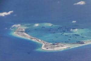 China's air force holds drills again in South China Sea, Western...